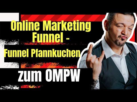 Online Marketing Funnel  – Online marketing Pfannkuchen zum OMPW