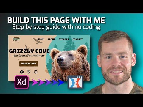 Web Design NO CODING, Adobe XD to Clickfunnels Full Tutorial