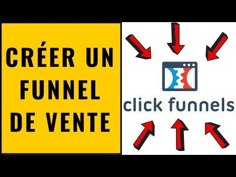 Tutoriel Clickfunnels – Créer un funnel de vente