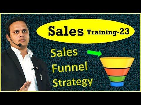 Sales Training Series – 23   Sales Funnel Stratagy    सेल्स फनल स्ट्रेटजी