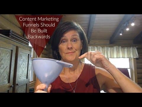 Your Content Marketing Funnel Should be Built Backwards