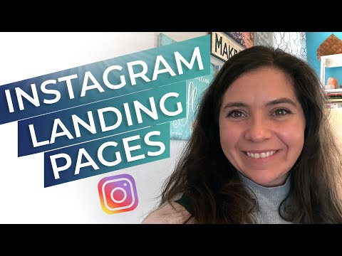 How To Create A Landing Page For Instagram