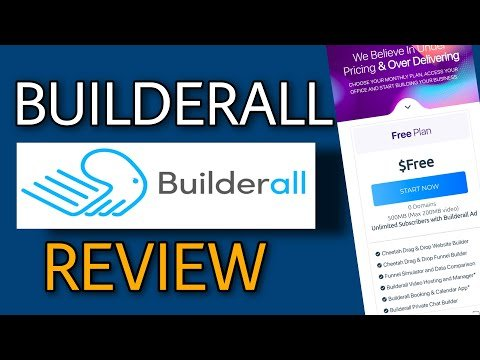 Builderall 4.0 review: Unlimited sales funnel with unlimited email leads for free