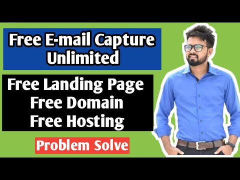 Create FREE Landing Page to Build Email List   Affiliate Marketing in Hindi 2020   Problem Solve