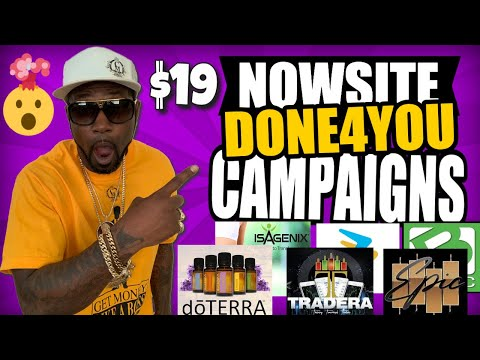 Nowsite Done For You Campaigns and landing Pages   Nowsite Marketing DFY