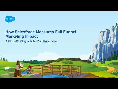 How Salesforce Measures Full Funnel Marketing Impact