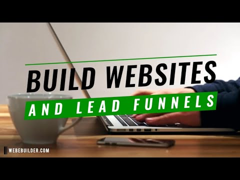 Build Professional Websites & Landing Pages With a Built in CRM