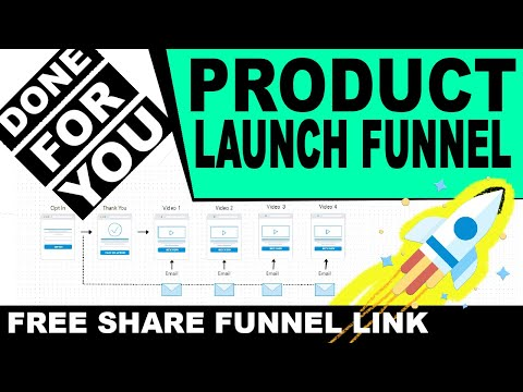 Free Done For You Sales Funnel: Product Launch Funnel