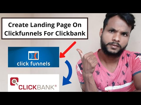 How To Create Landing Page On Clickfunnels For Clickbank (Hindi Training)