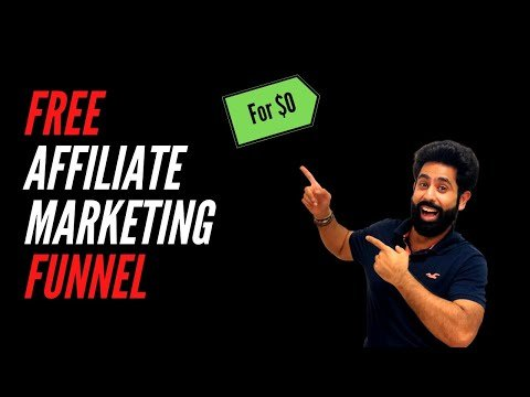 How To Make Affiliate Marketing Funnel For Free In Just 21 Minutes!