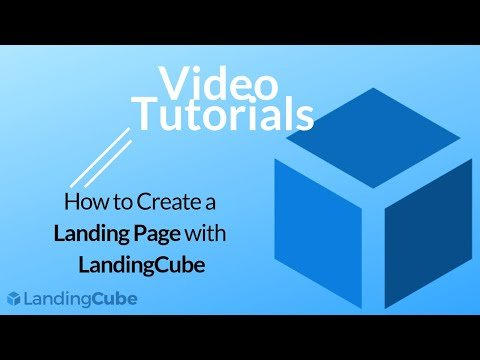 Creating Amazon Coupon Landing Pages with LandingCube