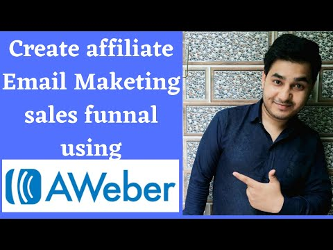 Affiliate marketing funnel ! use your aweber email marketing autimation create sales funnels