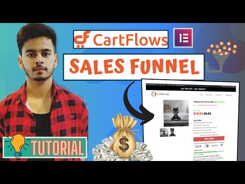 How to create a sales funnel in wordpress using cartflows and elementor – Cartflows tutorial 2020