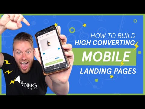 How To Build High Converting MOBILE Landing Pages!