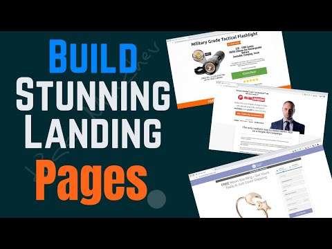 How To Build Stunning Landing Pages