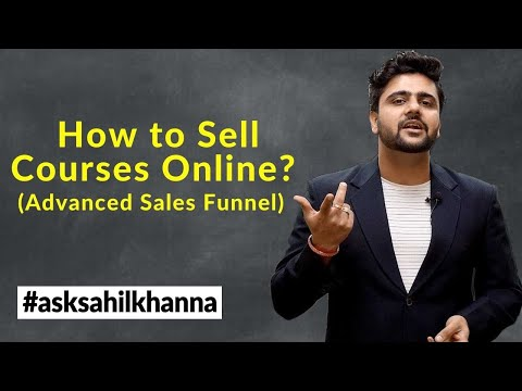 How to Sell Courses Online? (Advanced Sales Funnel)