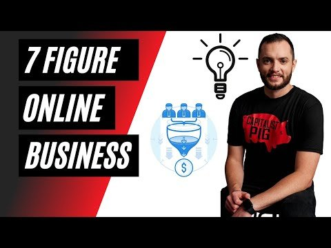 How to Grow a $1,000,000 ONLINE BUSINESS: digital products + sales funnel