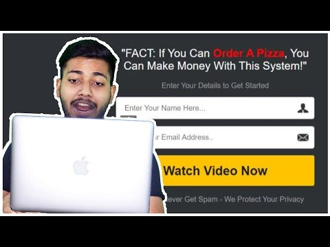 Create a Converting Landing Page in Just 2 Minutes   Affiliate Marketing in Hindi 2020