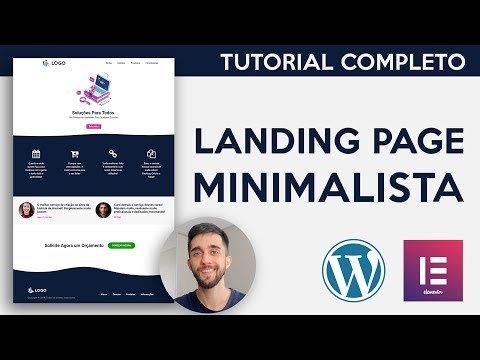 Como Criar uma Landing Page do Zero! – TUTORIAL COMPLETO