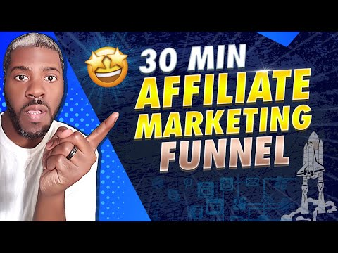 How To Build An Affiliate Marketing Funnel In 30 Minutes To Make Money! (Traffic Source Included)