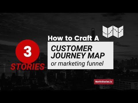 3 STORIES: HOW TO CRAFT A CUSTOMER JOURNEY MAP (OR MARKETING FUNNEL)