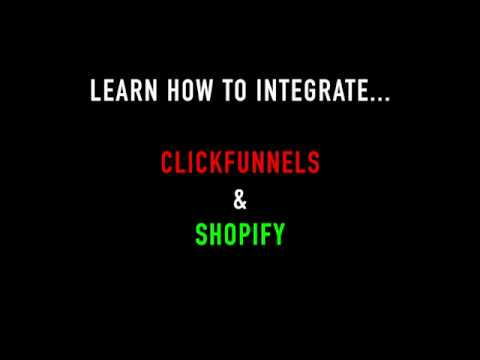 How To Integrate ClickFunnels and Shopify