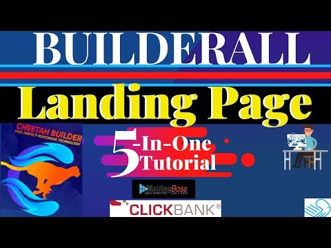 How To Create Affiliate Marketing Sales Funnel With Builderall Landing Page Builder Templates