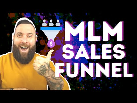 Network Marketing Sales Funnel To Easily Get More Customers   MLM Sales Funnel