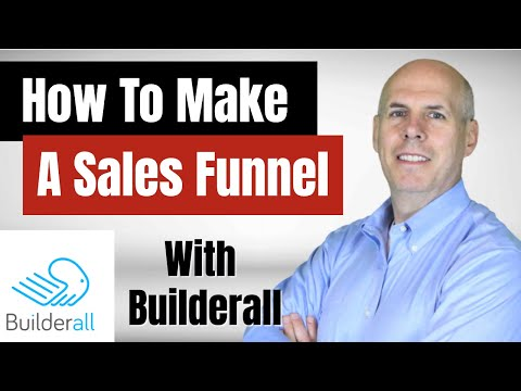 How To Build A Simple Sales Funnel With Builderall From Scratch