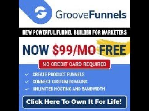 GrooveFunnels Review Demo   Online Sales Funnel Builder Software Tool