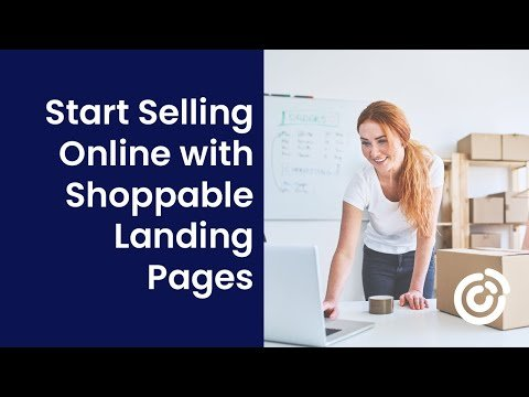 Start Selling Online with Shoppable Landing Pages | Constant Contact