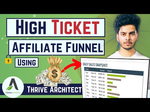 How to create a landing page using thrive architect – thrive architect tutorial 2020