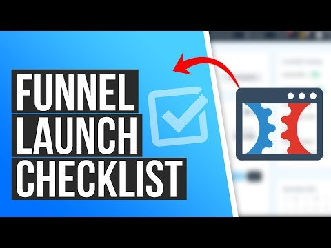 What is the Funnel Launch Checklist in ClickFunnels?