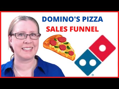 A PIZZA SALES FUNNEL? Domino's Pizza Online Sales Process Explained