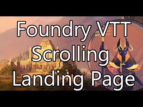 [Showcase] Scrolling Landing Page