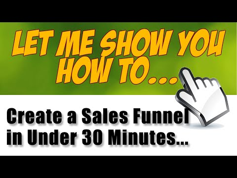 How to Set Up a Sales Funnel with Click Funnels 2020