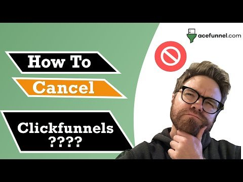 How to Cancel Clickfunnels Account (2020)