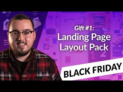 Exclusive Divi Black Friday Gift #1: A Stunning Landing Page Layout Pack