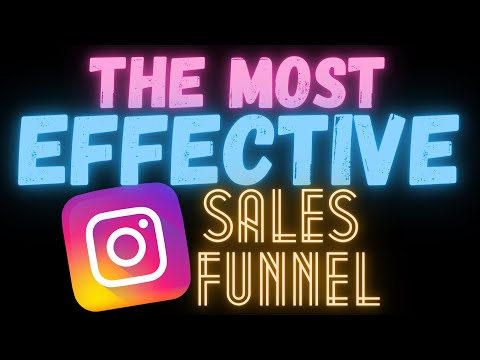 How To Create THE BEST Instagram Sales Funnel