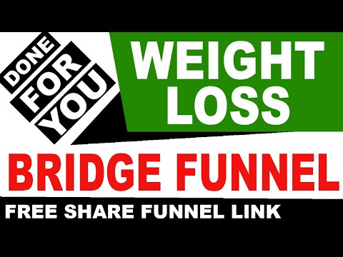 Free Done For You Sales Funnel: Weight Loss Bridge Funnel