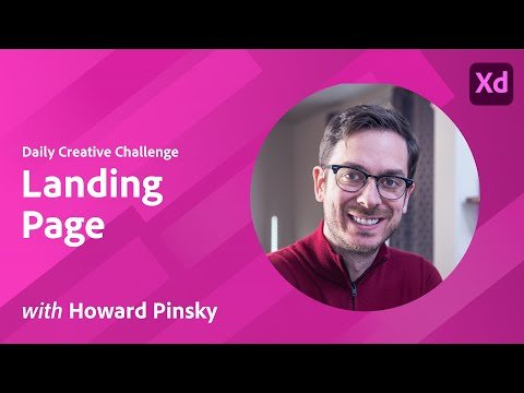 XD Daily Creative Challenge – Landing Page
