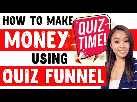 HOW TO MAKE MONEY USING QUIZ / SURVEY FUNNELS | CLICKFUNNELS LEADS MAGNET TUTORIAL