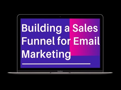 Building a Sales Funnel with Email Marketing