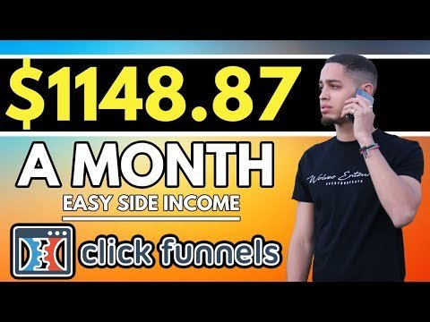 How To EASILY Make $40+ PER DAY With Clickfunnels Affiliate Program!
