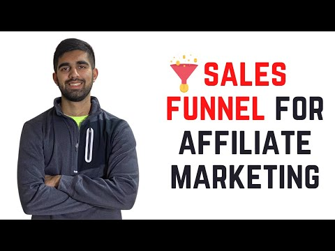 How To Create A Sales Funnel For Affiliate Marketing[STEP BY STEP]