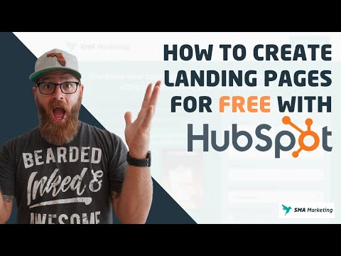 How to Create Landing Pages for FREE with HubSpot