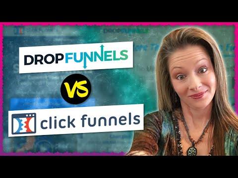 ClickFunnels vs DropFunnels   Shelly Hopkins