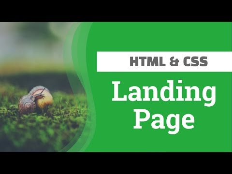 Create a Landing Page using HTML & CSS [ TAGALOG ]