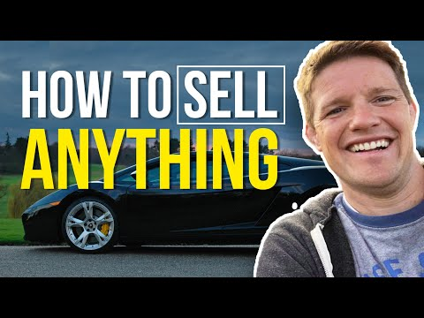 HOW TO SELL a product…this is weird but it works..