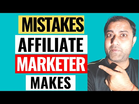 What Happens When You Start Affiliate Marketing As A Beginner & Do Affiliate Marketing Mistakes!